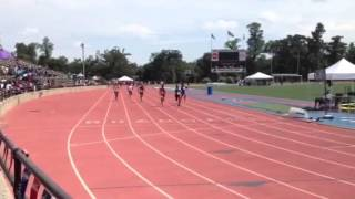 Tradeshia Conner and Aubreonna Mitchell in 100m Prelim Thumbnail