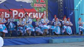 Жители Бердска празднуют День России