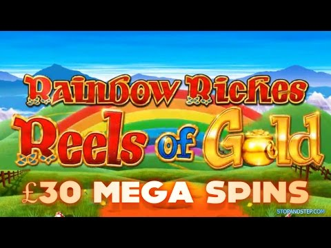 High Roller Slots - Rainbow Riches £30 SPINS!!!