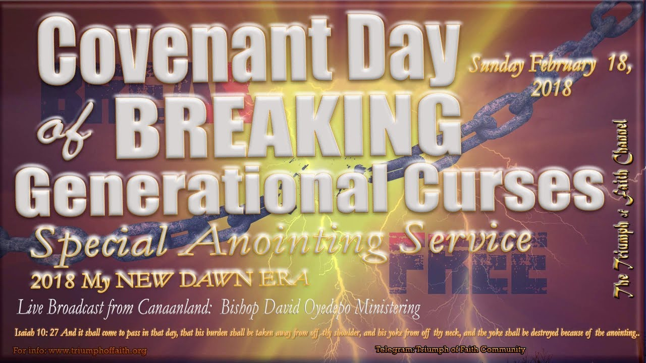 Breaking Generational Curses [Special Anointing Service], February 18, 2018  [1st Service]