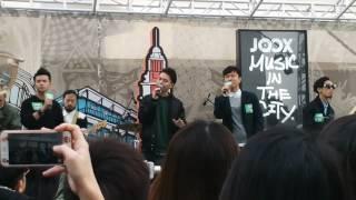 C AllStar joox music in the city ( 時日如飛)😘😘
