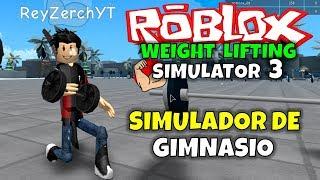 GYM SIMULATOR! ROBLOX: GEWICHT LIFTING SIMULATOR 3