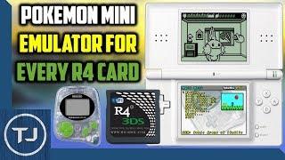 Pokemon Mini Emulator For Any R4 Card! (DS/DSi/3DS)