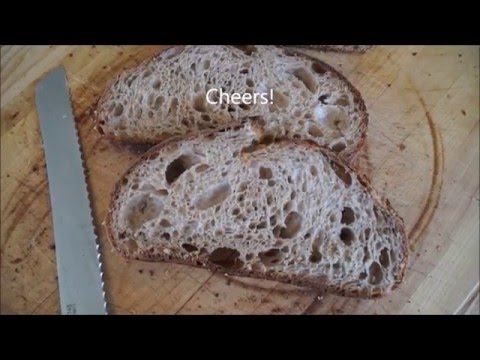 How to Make Tartine Style Country Bread