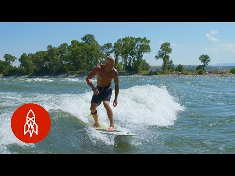 Thumbnail: River Gods: Welcome to the Wild West of Surfing