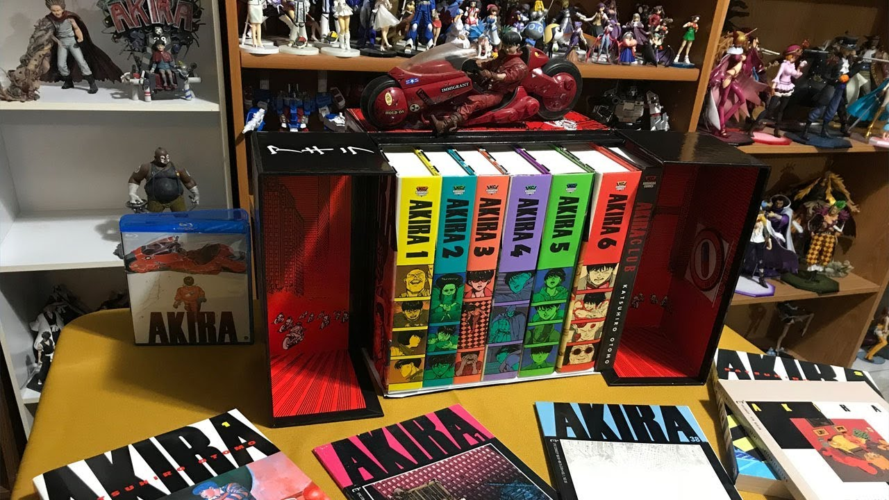 Gaiden Akira 35th Anniversary Box Set Unboxing And Comparison Youtube