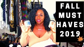 MY FAVORITE FALL MUST HAVES 2019