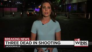 Britni McDonald reports on Mass Shooting in Jacksonville