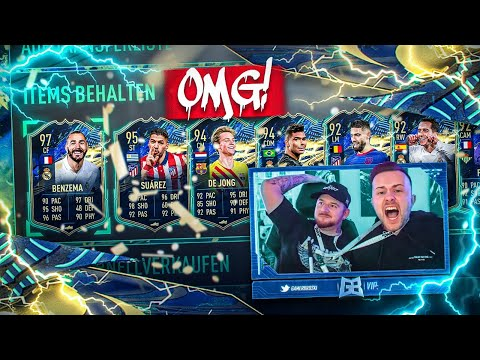 OMG! LIGHTNING ROUNDS GÖNNEN PACK LUCK 💸 FIFA 21: Best Of La Liga Tots Pack Opening 🔥