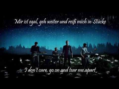 A sky full of stars -Coldplay lyrics in  English/German ( Deutsche Übersetzung )