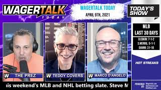 Daily Free Sports Picks | NBA Betting Previews and NHL Picks on WagerTalk Today | April 9