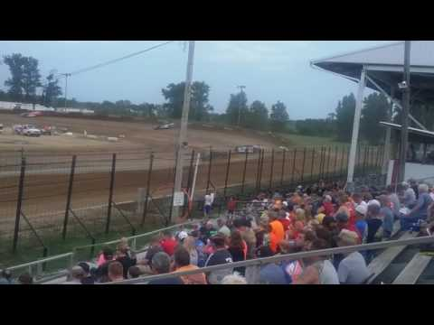 World of Outlaws Late Model Heat 3  Fayette County Speedway