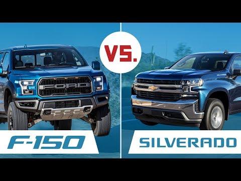 Ford F-150 vs Chevy Silverado