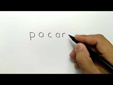 WOW, menggambar ORANG PACARAN dengan kata pacar,,, LUCU DEH