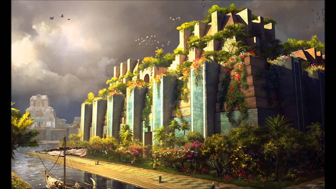 los jardines colgantes de babilonia youtube