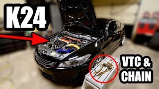 How I Replaced the Timing Chain on my 200,000km Honda Engine