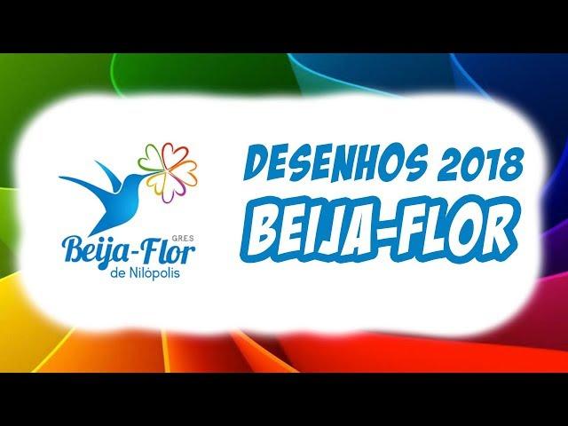 Beija-Flor • Desenhos 2018