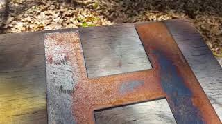 How to rust metal quickly