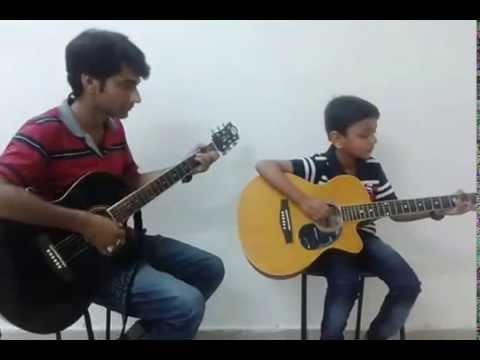 Hey Ram on Guitar played by Ayush Kumar (Swar Sagar) - YouTube