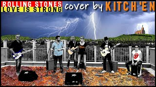 Love is strong - The Rolling Stones cover by kitch'en guitare, basse, harmonica and cajon vidéo HD !