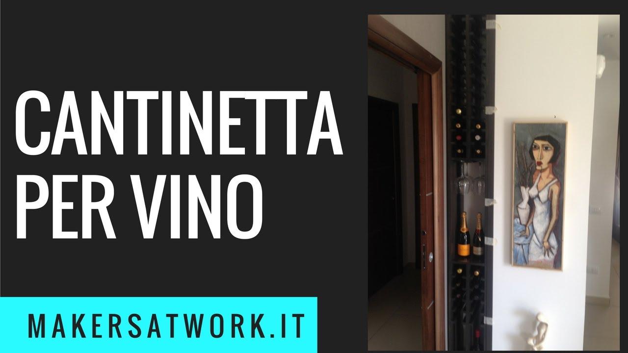 Credenza Per Vino : Fai da te cantinetta per vino youtube