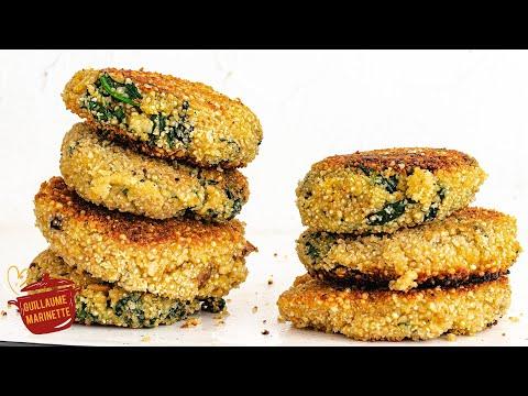 galettes-healthy-de-quinoa-aux-épinards,-comment-faire-?-recette-facile-et-rapide