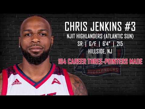 NJIT's Chris Jenkins