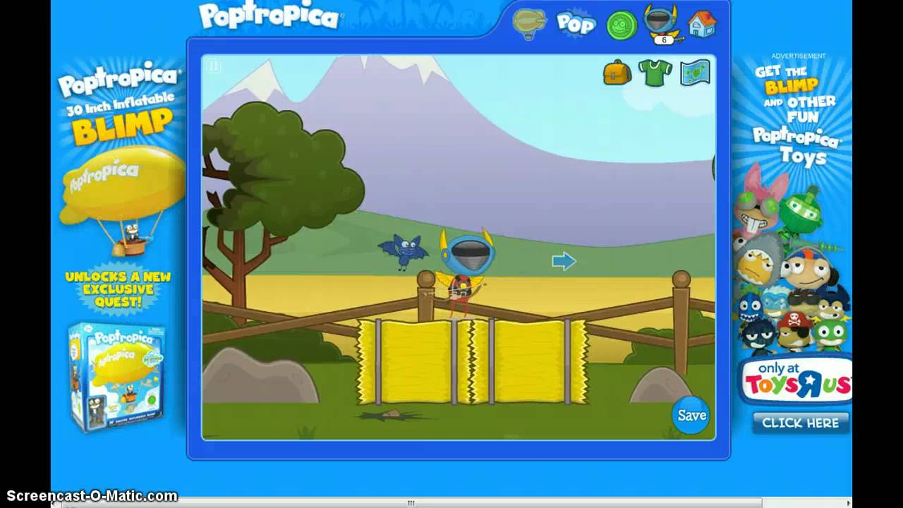 how to win astro knights island on poptropica