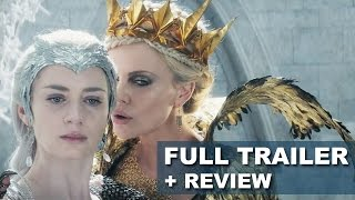 The Huntsman Trailer 2016 + Trailer Review aka Reaction : Beyond The Trailer