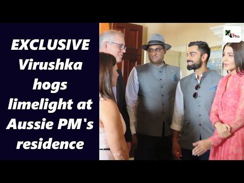 Exclusive: Kohli, Anushka hogs limelight as Indian cricketers hosted by Aussie PM at his residence