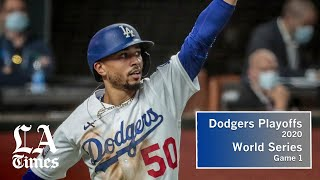 Dodgers, on the backs of Kershaw and Betts, take World Series Game 1