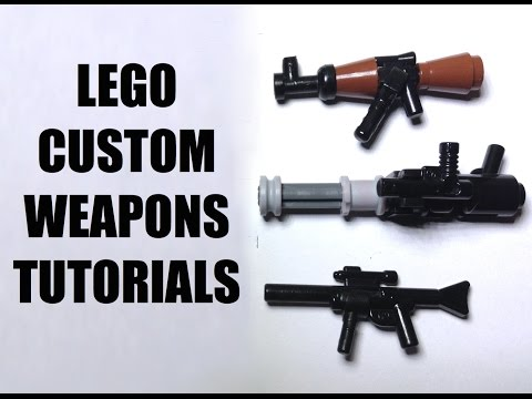 LEGO CUSTOM WEAPON TUTORIAL!!