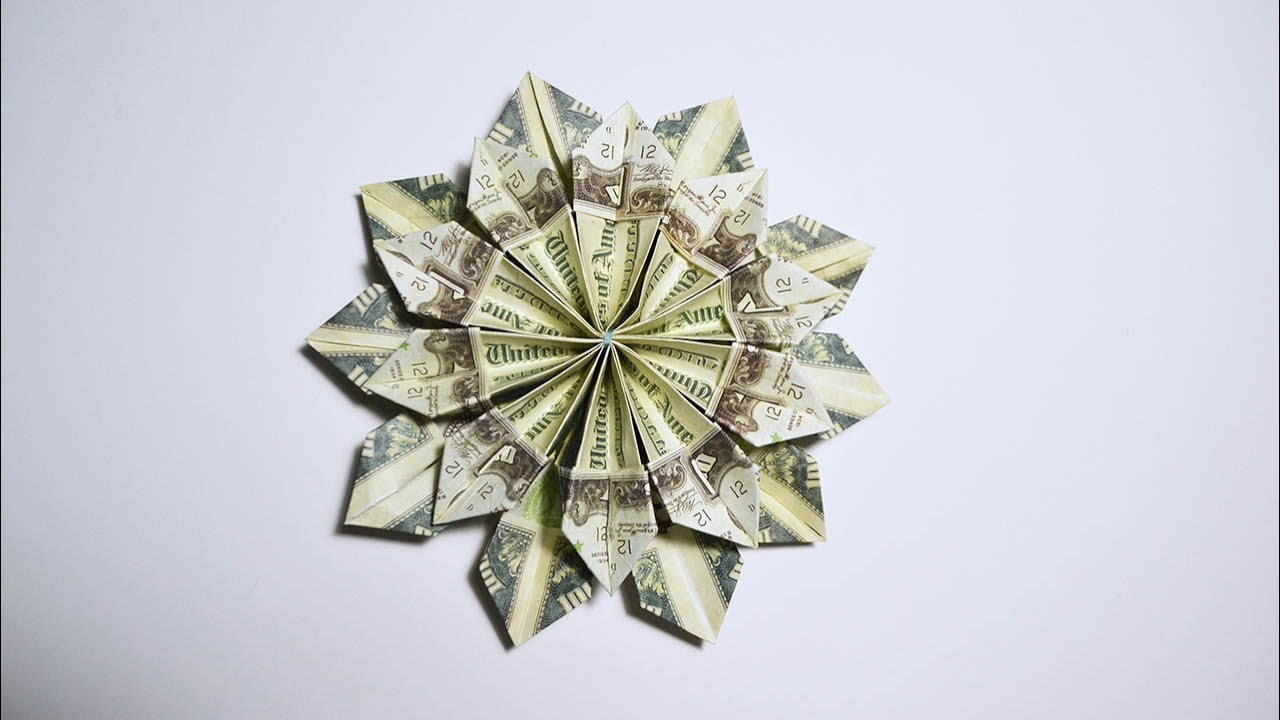 Money Flower Origami Images Flower Decoration Ideas
