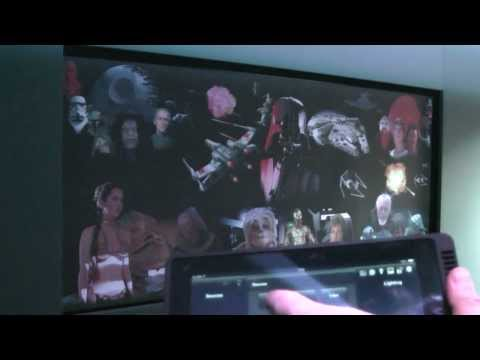 AVForums home cinema screen - Image Screens Cinema TV Masque with Star Wars art work by Andrew Timbs
