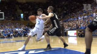 Top Plays: Duke 99, Wake Forest 94 (2/18/17)