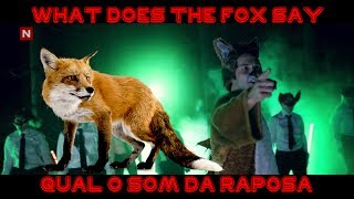 o som da raposa video inedito mostrando o som da raposa what does the fox say