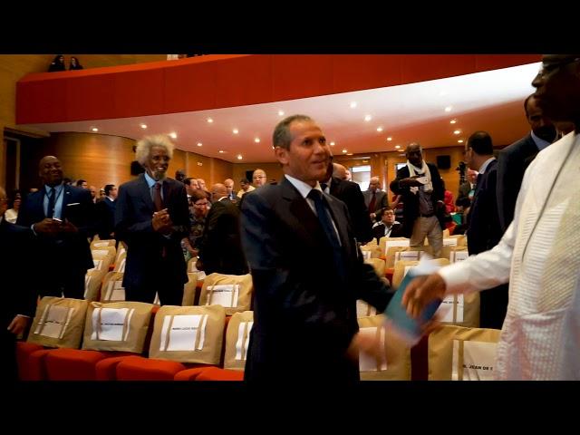 زيارة الرئيس السنغالي لإفتتاح موسم أصيلة الثقافي في دورته الأربعون