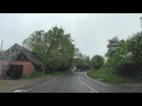 Driving On The A4103 From Worcester To Hereford, England 21st May 2016