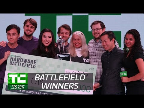 Presenting the TechCrunch CES 2017 Hardware Battlefield Winner