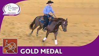 Giovanni Masi De Vargas - Gold Medal Reining - FEI European Championships 2015