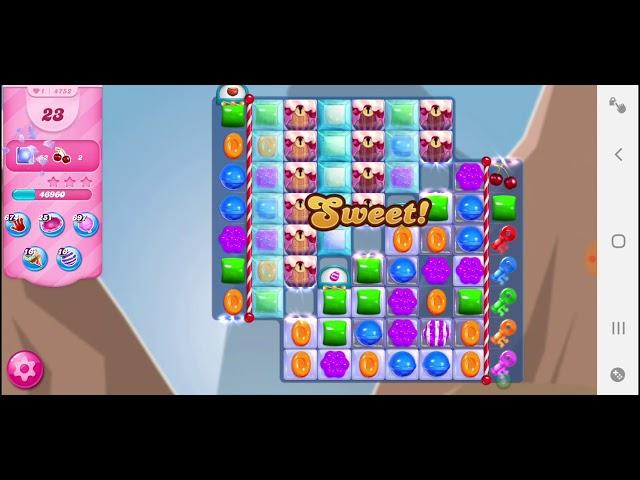 Candy Crush Saga niveau 4752