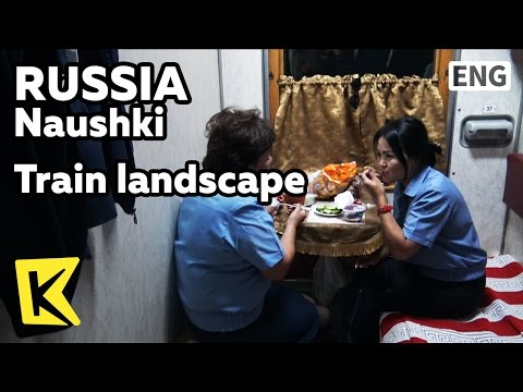 【K】Russia Travel-Naushki[몽골 여행-나우시키]기차 안 풍경과 사람들/Train/Landscape