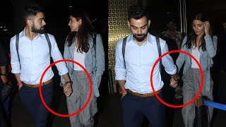 Virat Kohli's Cute Gesture For Wife Anushka Sharma At Airport Will Melt Your Heart