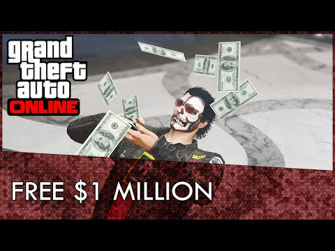 GTA Online: How To Get A Free $1 Million (GTA 5 Free Money)