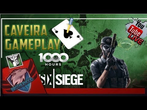 Rainbow six siege gameplay caveira 1vs4 Glutch//1000HRS looks like! [RSS gameplay][english][HD+]