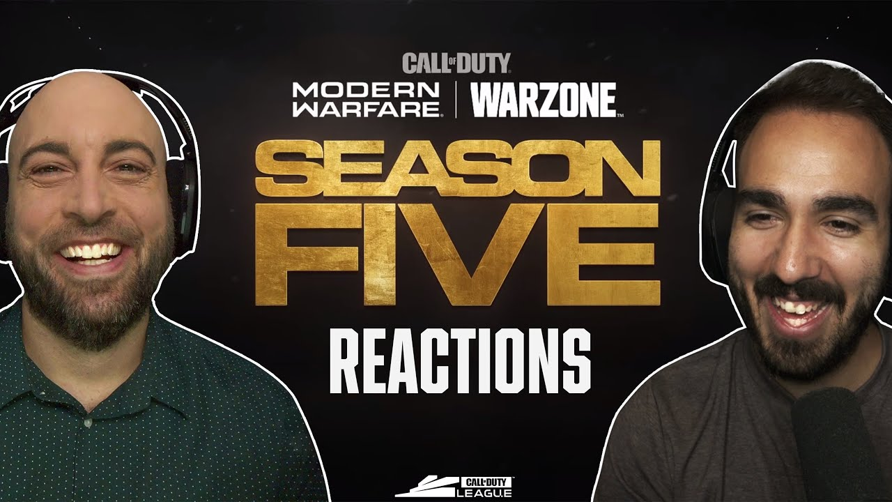 SEASON 5 BIG CHANGES! — Stadium, Trains, New Guns, & More! (Modern Warfare + Warzone)