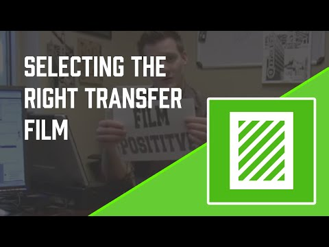 How to Screen Print - Film Selection - Detailed instruction - Screen Printing 101 DVD pt 7