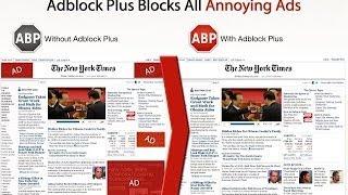 Блокируем рекламу в браузере Chrome (AdBlock Plus)(Понравилось видео? Нажимай ▻ https://goo.gl/XtIlOe Плейлисты моего канала ▻ https://www.youtube.com/user/RogatayaZaba/playlists., 2013-12-26T21:14:57.000Z)
