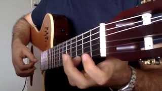 """Guitar  """"  HER YERDE KAR VAR """"  Cover"""