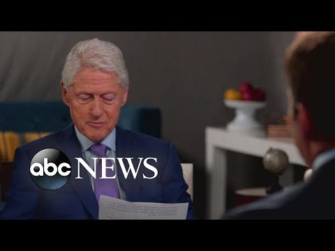 Former President Clinton reads note left by George H.W. Bush: I love that letter